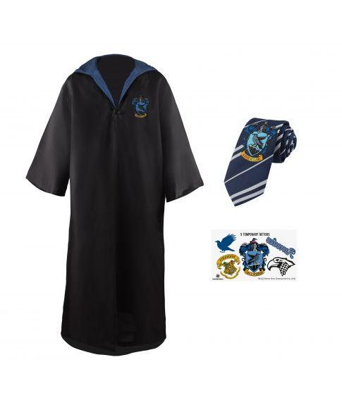 Ravenclaw kappe med slips.