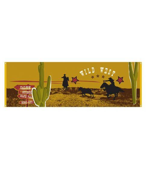 Wild West banner