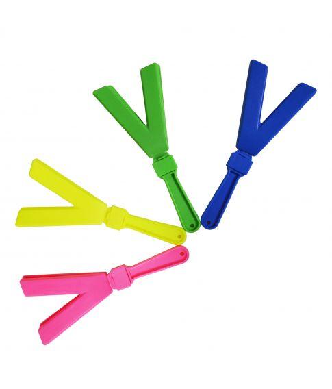 V-klapper i forskellige farver
