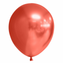 Mirror latex balloner i rød