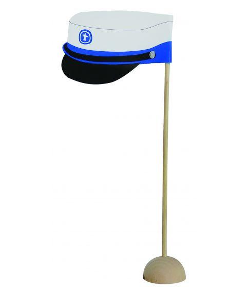 Bordflag med blå hue, 6 stk
