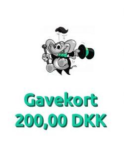 Gavekort 200,00 DKK