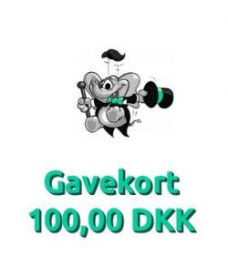 Gavekort 100,00 DKK