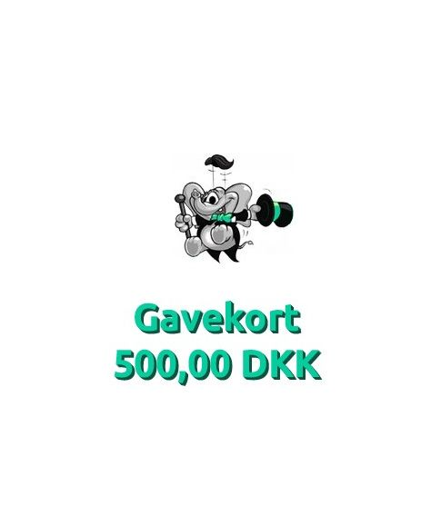 Gavekort 500,00 DKK