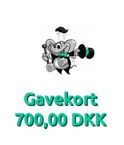 Gavekort 700,00 DKK