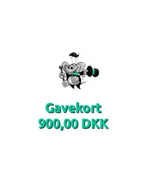 Gavekort 900,00 DKK