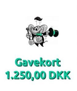 Gavekort 1.250,00 DKK