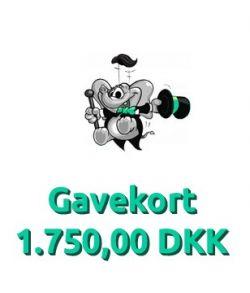 Gavekort 1.750,00 DKK