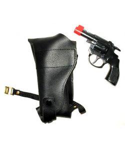 Skulderhylster m/revolver