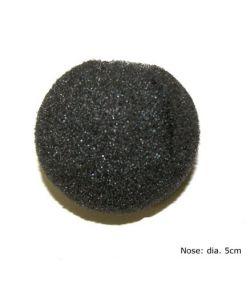Skumnæse, sort