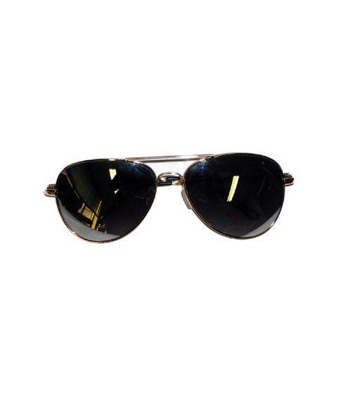 Pilotbrille, guld
