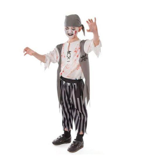 Zombie Pirate Boy