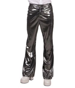 Sølv bukser til discoudklædningen