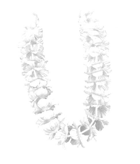 Hawaiikrans, hvid