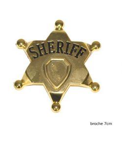 Sheriffstjerne, metal