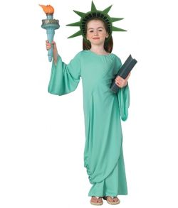 Frihedsgudinden kostume til børn