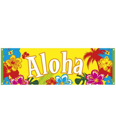 Aloha banner