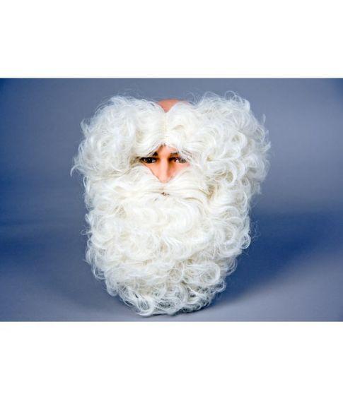 Hårkrans med skæg