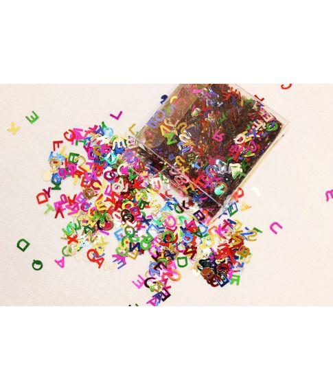 Bogstavkonfetti
