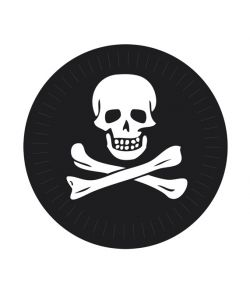 Pirat tallerkner