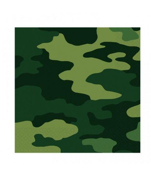 Camouflageservietter