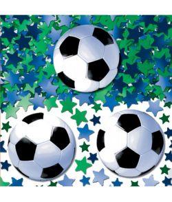 Fodboldkonfetti