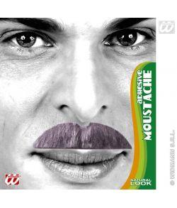 Overskæg, grå
