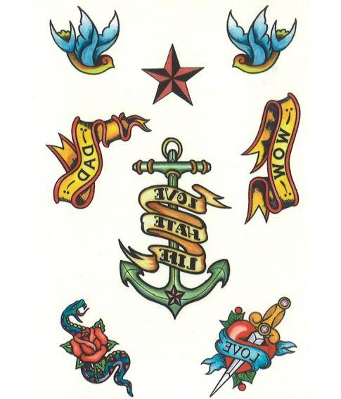 Sømands tattoo