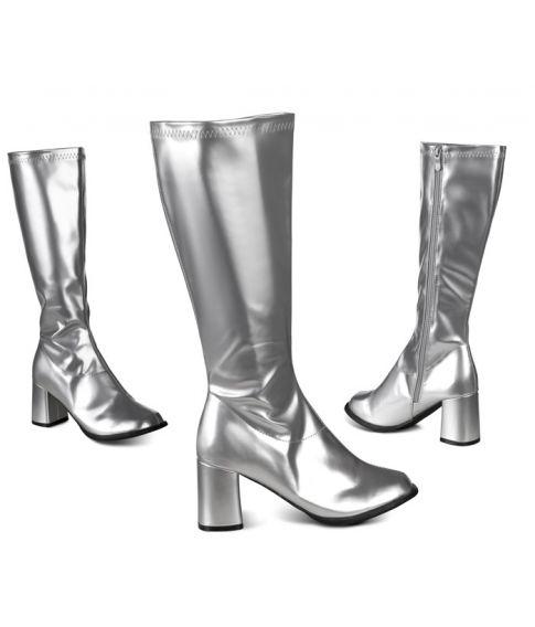 Støvler, sølv