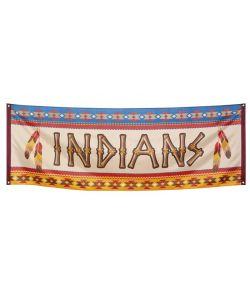 Indianer banner