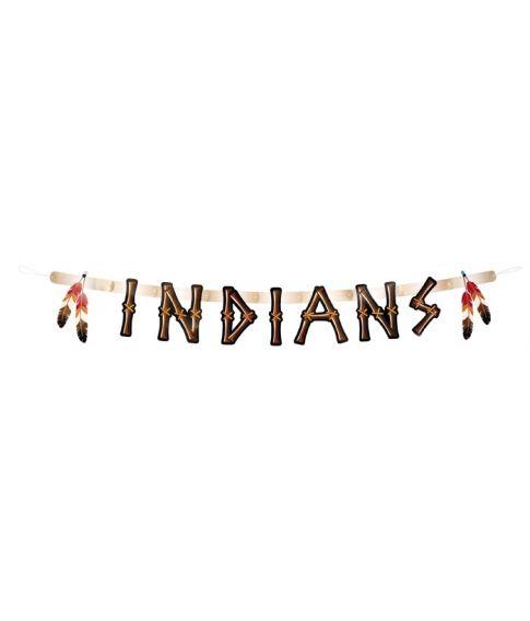 Indianer guirlande