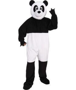 Panda kostume