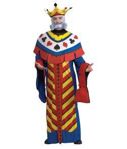 Konge, kort kostume