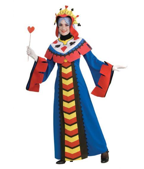Dronning, kort kostume