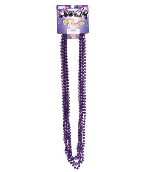 Perlehalskæde, lilla