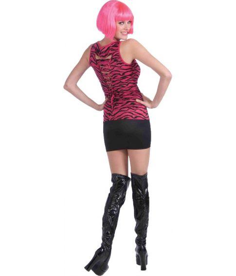 Pink Zebra bluse