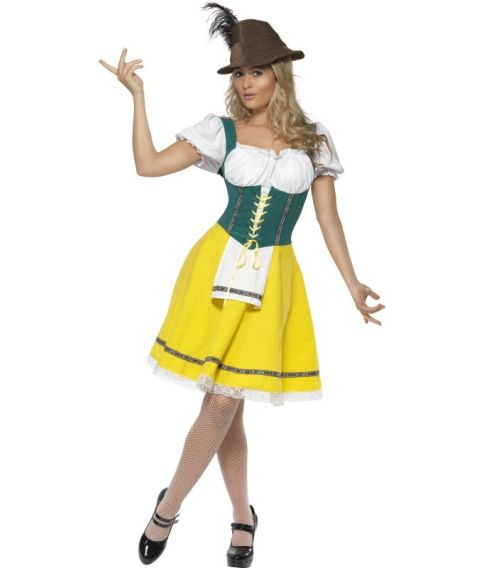 Oktoberfest kjole