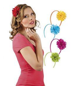 Hårbøjle med blomst