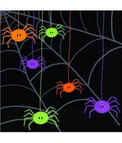 Spider servietter 25x25