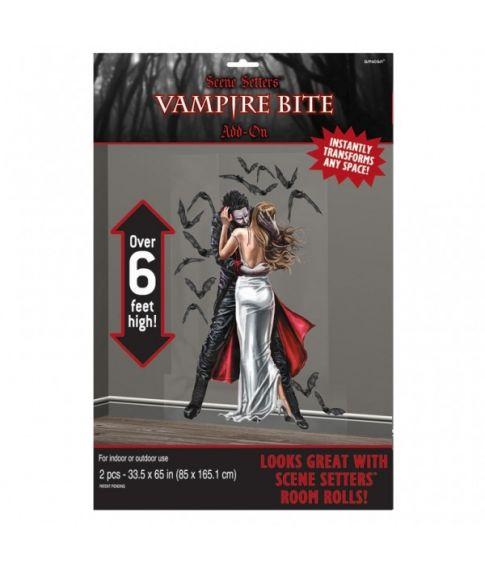 Vampyr vægdekoration