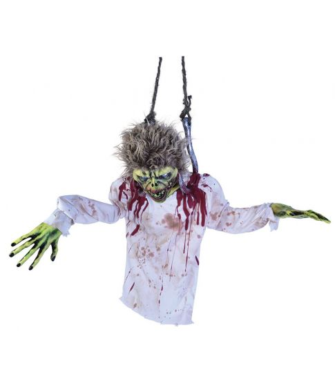 Zombie Torso On Hook