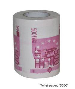 Toiletpapir 500 Euro