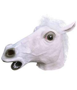 Hestemaske, hvid