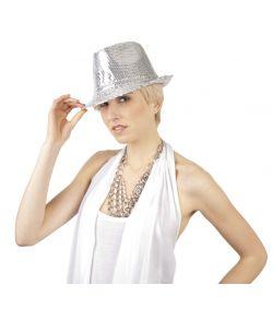 Popstar hat, sølv