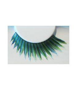 Sort, blå og grøn