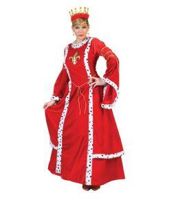 Dronninge kostume