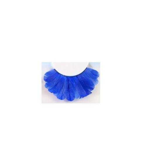 Blå fjer