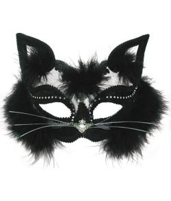 Black Cat, halvmaske