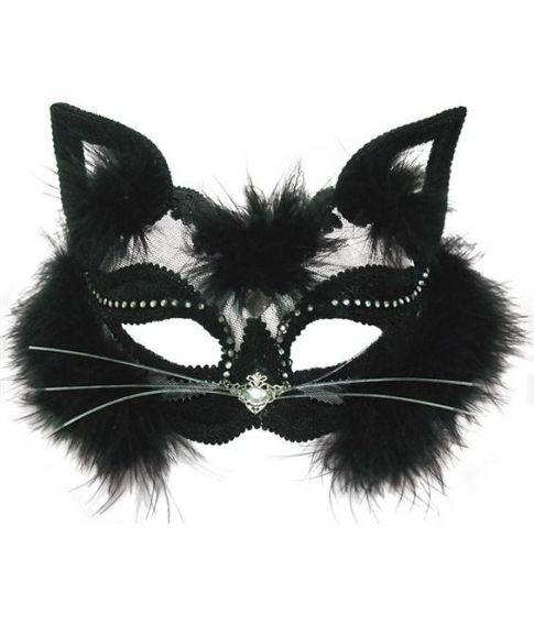 Black Cat, halvmaske