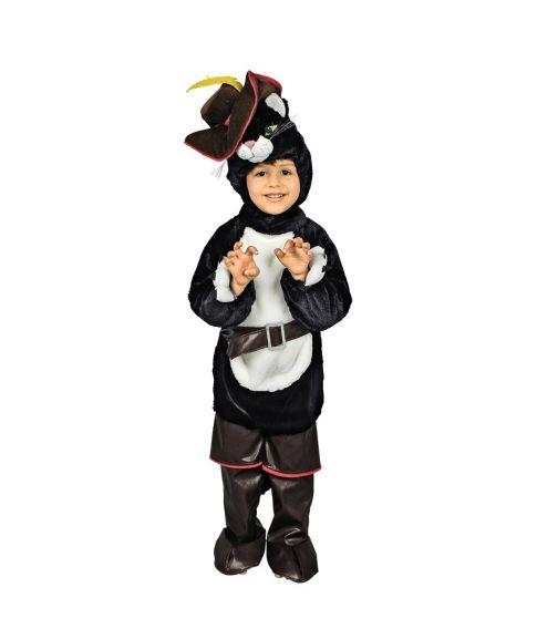 1d6ff47789b Den bestøvlede kat kostume til børn